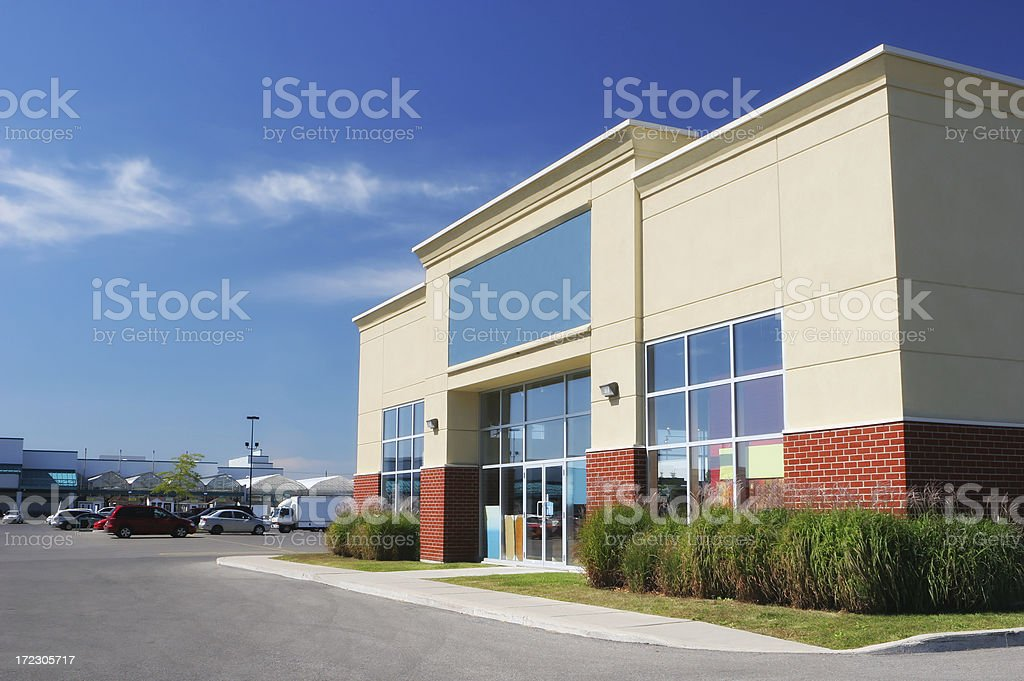 Small Store Building Exterior stock photo