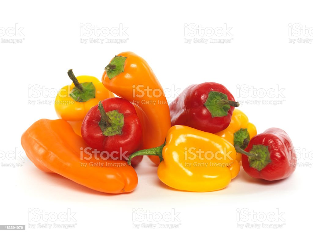 Small Sweet Peppers stock photo