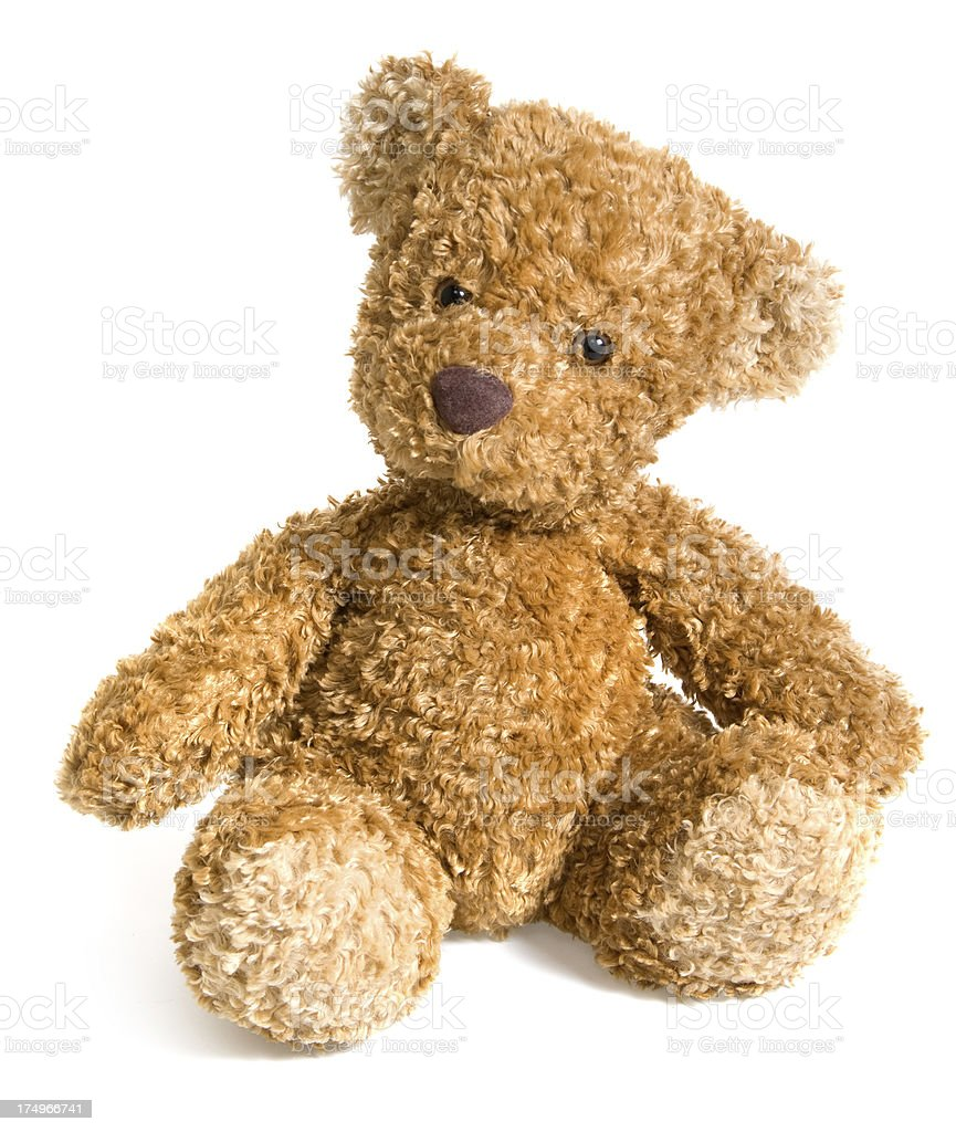 Small Teddy Bear Toy stock photo