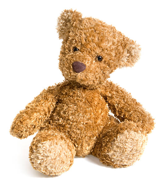 small teddy bear toy - teddy bear stock photos and pictures