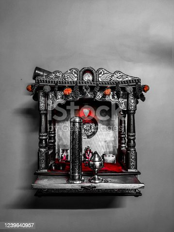 istock small temple for house silver 1239640957