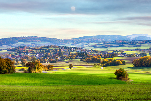 istock small town in a valley on bavaria countryside 877075458
