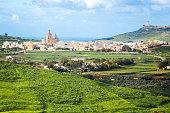 Small Town in Gozo Island