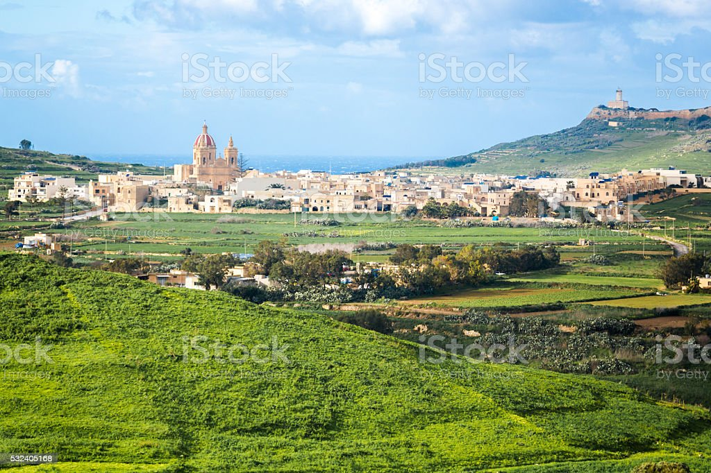Small Town in Gozo Island – Foto