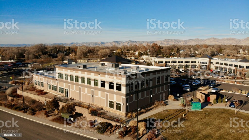 Small Town Office Space stock photo