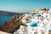 istock Small town on the cliff - Oia, Santorini 1280501014