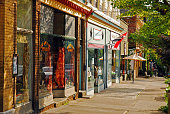 istock Small town shopping in the Hudson Valley 1203020454