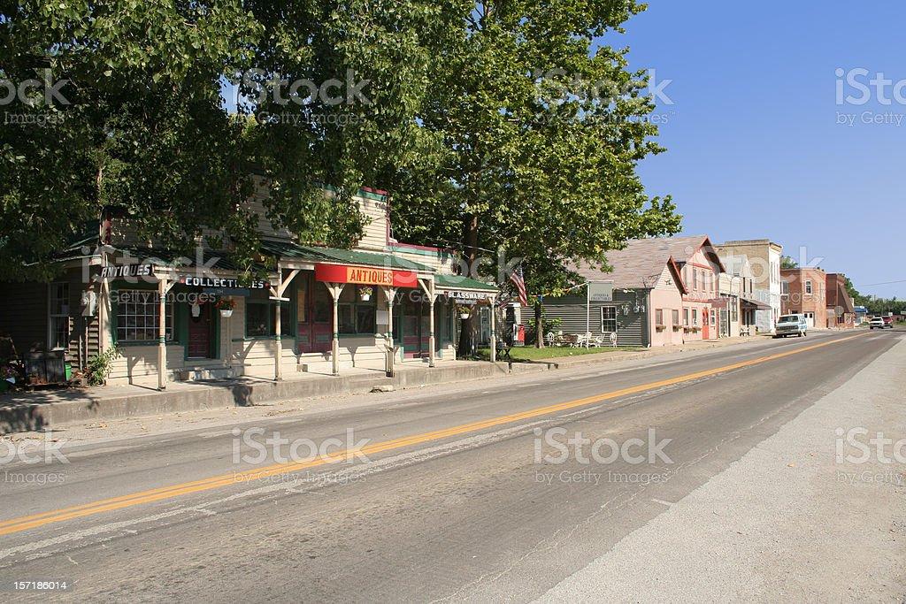 Small Town, USA stock photo