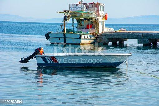 Turkey - Middle East, Fishing Boat, Horizontal, Nature, Hunt