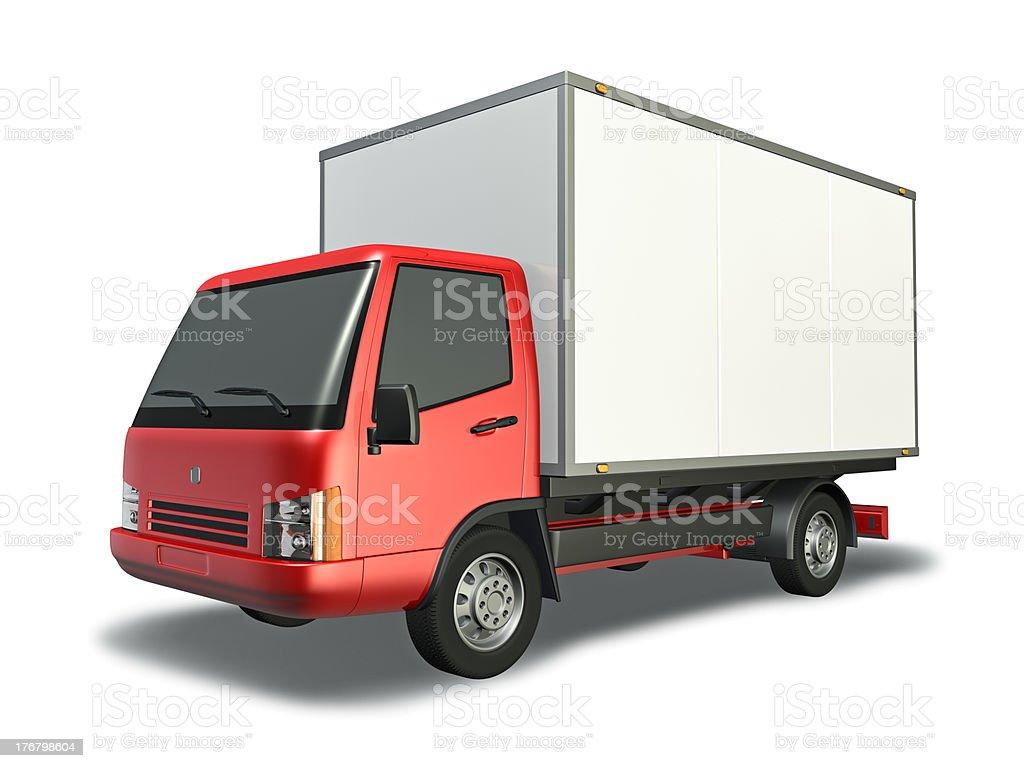 Small Truck royalty-free stock photo