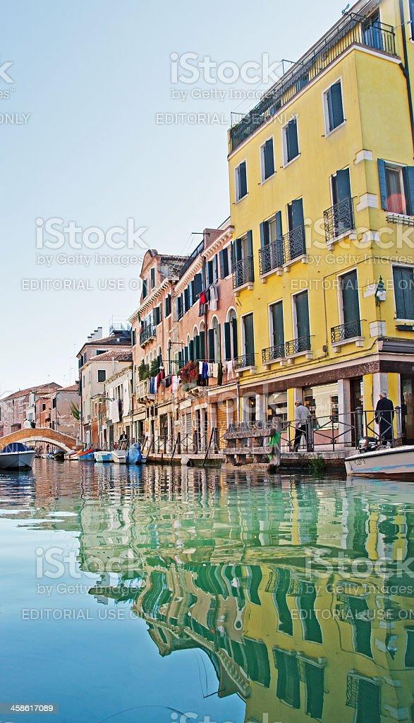 Small Venetian Canal stock photo