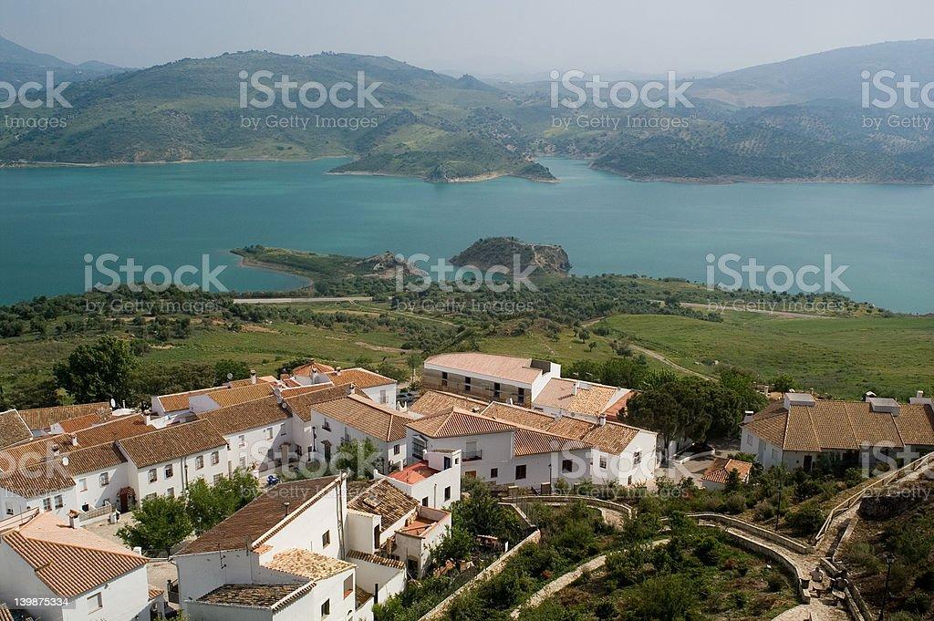 small village IV stock photo