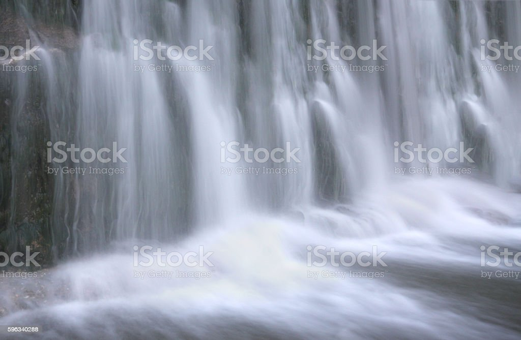Small waterfal royalty-free stock photo