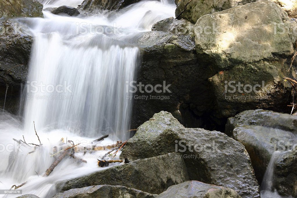 Small Waterfall - 34 royalty-free stock photo