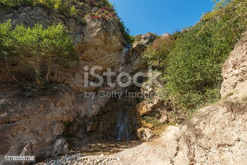 Small waterfall in the highlands