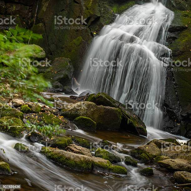 Small Waterfall Stock Photo - Download Image Now