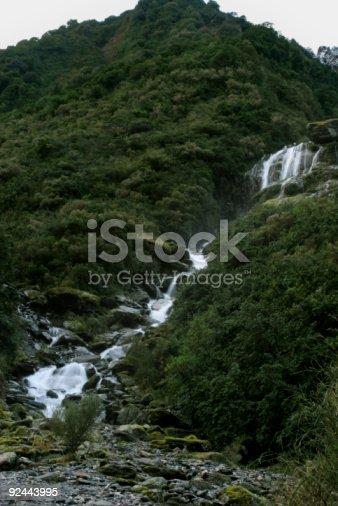 istock Small waterfall 92443995