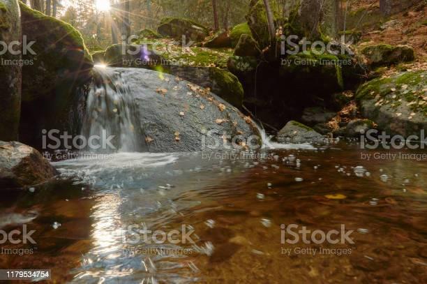 Small waterfalls in the sestil del mallo stream in the sierra de picture id1179534754?b=1&k=6&m=1179534754&s=612x612&h= 3g ovt ln9z mn qykyttbphoj1sqqwmshajqoumqw=