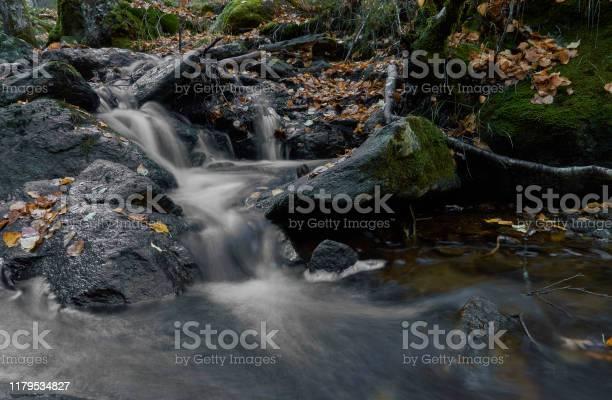 Small waterfalls in the sestil del mallo stream in the sierra de picture id1179534827?b=1&k=6&m=1179534827&s=612x612&h=bez9bb3gxw6fdih5z4vxkz1oxkf910gyqg62b0drgvo=
