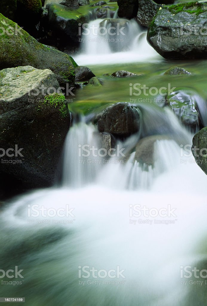 Small Waterfalls royalty-free stock photo