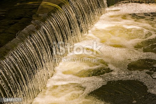istock A small weir overflow from the Stort & Lee Canal near Sawbridgeworth 1284811711