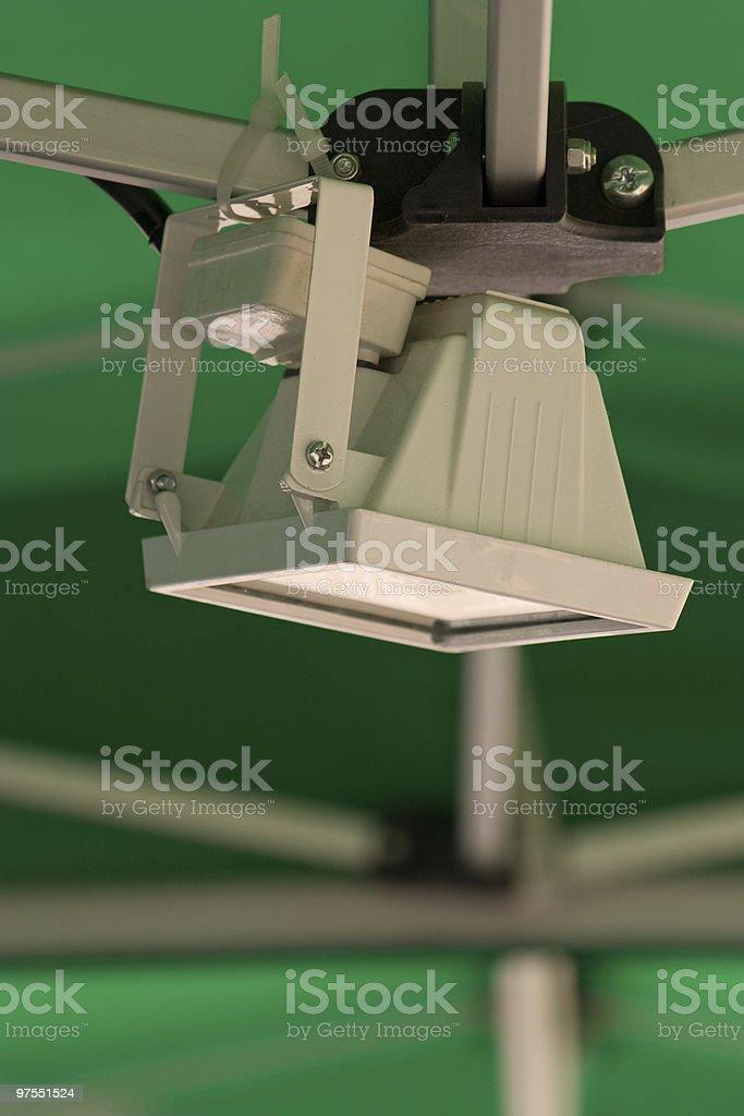 Small white reflector royalty-free stock photo