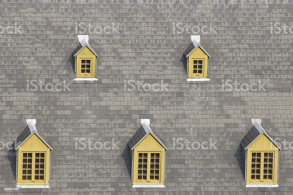 Small windows royalty-free stock photo