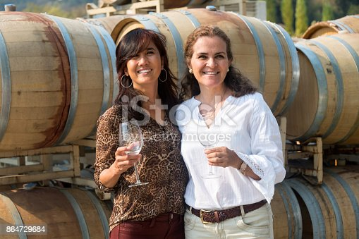 istock Small winery owners 864729684