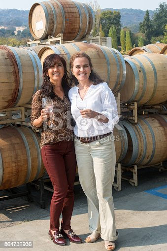 istock Small winery owners 864732936