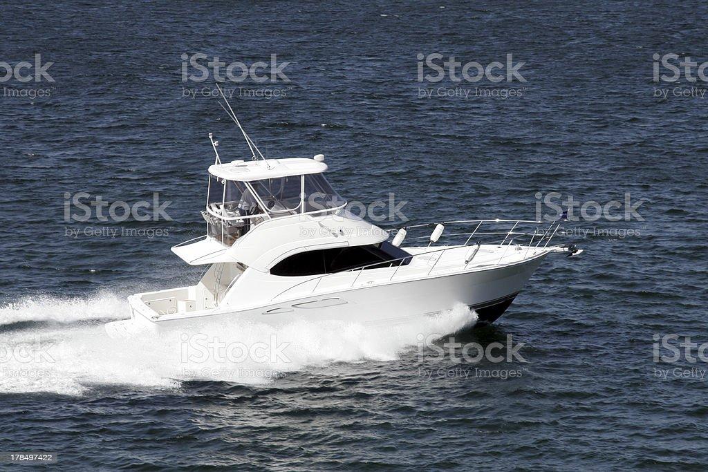 Small Yacht stock photo