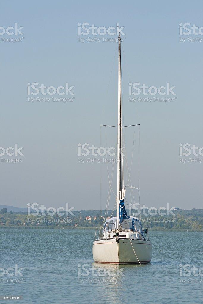 Piccoli yacht foto stock royalty-free