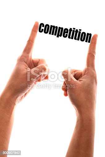 istock Smaller competition concept 500907942