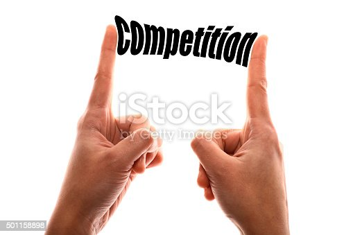 istock Smaller competition concept 501158898