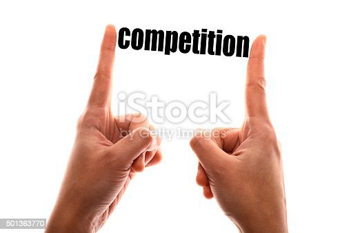 istock Smaller competition concept 501363770