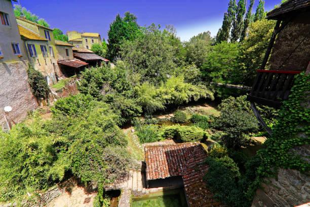 Smallest French village Castelmoron-d'Albret