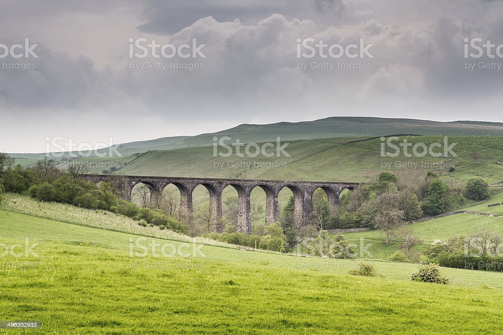 Smardale railway Viaduct stock photo