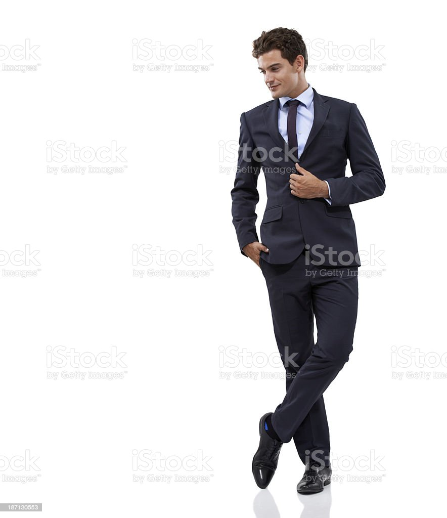 Smart and successful royalty-free stock photo