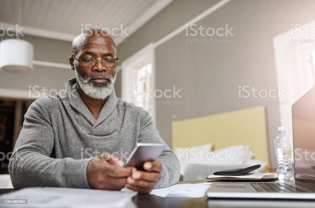 Smart apps make for smart budgeting stock photo