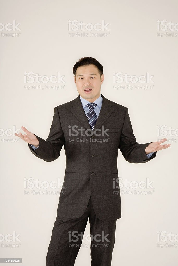 smart asian man royalty-free stock photo