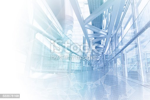istock smart building and mesh network, abstract image visual 533578168