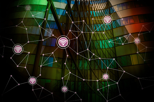 680917060 istock photo smart building and wireless communication network, abstract image visual, internet of things 661556012
