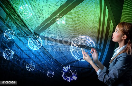 istock smart building and wireless communication network concept, Internet of Things, Information Communication Network, Smart City, Smart Grid, abstract image visual 810600684