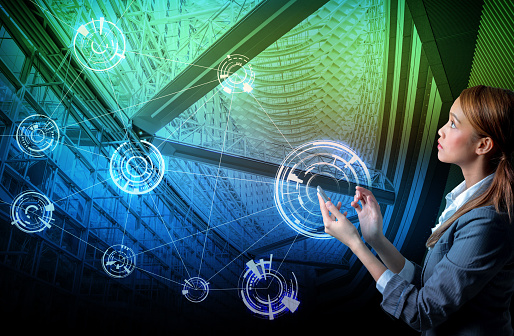 680917060 istock photo smart building and wireless communication network concept, Internet of Things, Information Communication Network, Smart City, Smart Grid, abstract image visual 810600684