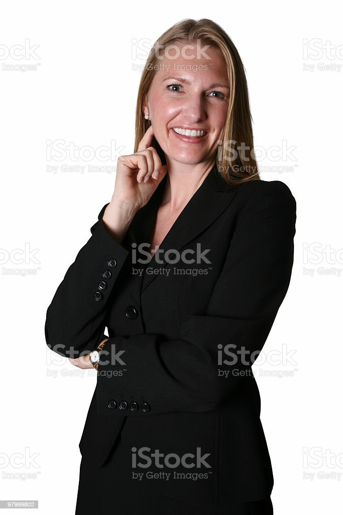 Smart business woman royalty free stockfoto