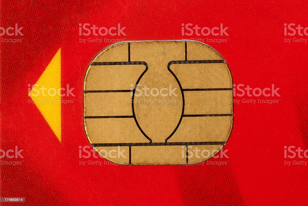 Smart Card royalty-free stock photo