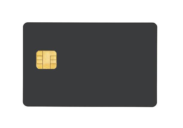 Smart card stock photo