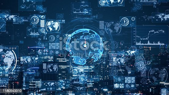 1169711469istockphoto Smart city and communication network concept. 5G. LPWA (Low Power Wide Area). Wireless communication. 1180543310