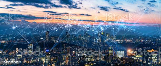 Smart city and communication network concept iot ict picture id1013558568?b=1&k=6&m=1013558568&s=612x612&h=8a 4d3j00o7kge qj5nbfkqhz92a ypl0rgyl7cgzxi=