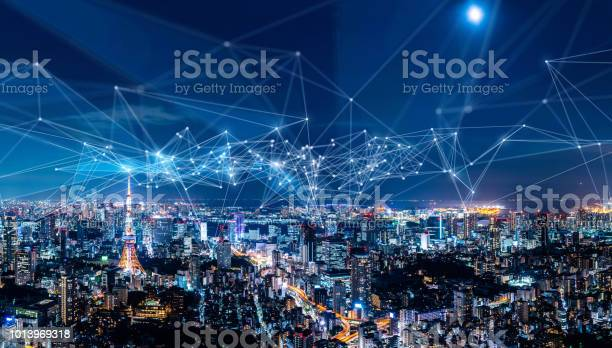 Smart city and communication network concept iot ict picture id1013969318?b=1&k=6&m=1013969318&s=612x612&h=nxsmb1oqd1ov 6 8u0javahezdfeaogpuy8uipxjgyo=
