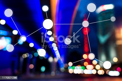 1019729218 istock photo Smart city and communication network concept 1170521286